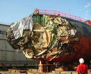 Buz dağına çarpan Amerikan denizaltısının fotoğrafları yayınladı