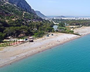 Antalya'da kadınlar plajı yaz sezonunu açıyor