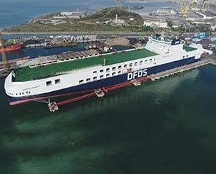 DFDS, ikinci gemisini Türkiye'ye getirecek