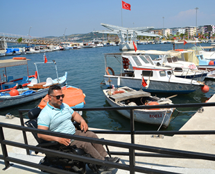Aliağa Balıkçı Tekne Barınağı'na engelli rampaları yapıldı