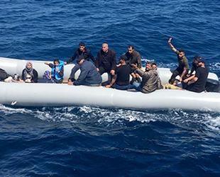 Didim'de 19 düzensiz göçmen yakalandı