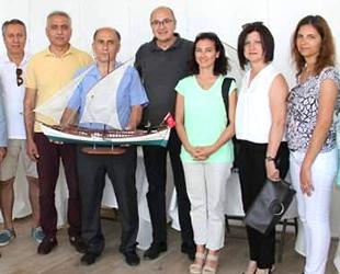 Fethiye'de Türk tekneleri modelleri sergileniyor