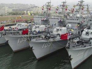 Çin Donanması'nda 4 adet muhrip emekliye ayrıldı