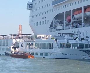 Venedikliler, kruvaziyer gemilerine karşı ayaklandı