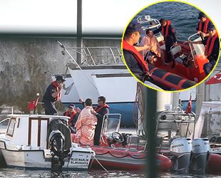 Gemlik'te arıza yapan teknedeki 7 kişi kurtarıldı