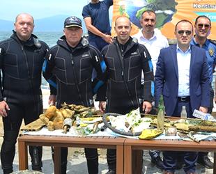 Mudanya'da dip temizliği yapıldı