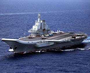 Çin'in uçak gemisi, Pasifik Okyanusu'na açıldı
