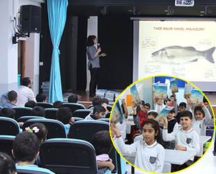 İBB, öğrencilere su ürünleri farkındalık eğitimi verdi