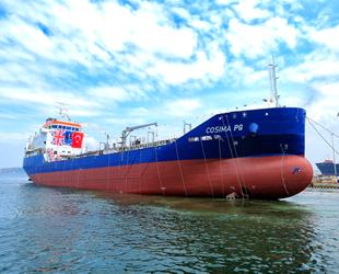 RMK Marine, COSIMA PG isimli tankeri denize indirdi