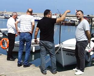 Kozlu Limanı'na harfiyat döken kişi, belediye personeli çıktı