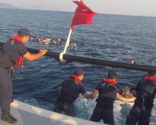Bodrum'da düzensiz göçmenleri taşıyan tekne battı: 8 ölü...