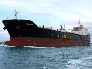 DİTAŞ, M/T HIGN SUN isimli kimyasal tankeri filosuna kattı