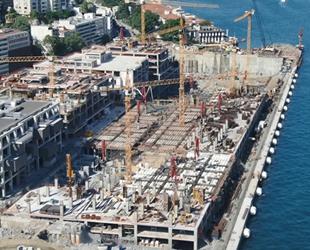 Galataport'ta binalar şekillenmeye başladı