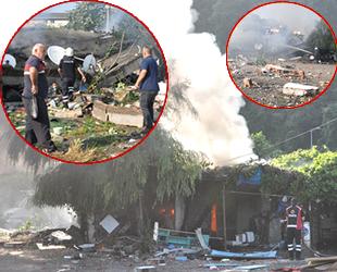 Zonguldak'ta balıkçı barınağında patlama meydana geldi