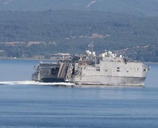 'USNS Yuma' isimli gemi, Çanakkale Boğazı'ndan geçti