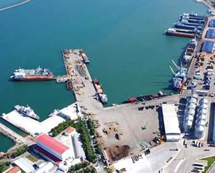 Samsun Limanı'na 2019'da 892 gemi yanaştı