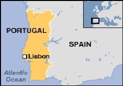Portekiz'de kasırga oluşumu başladı