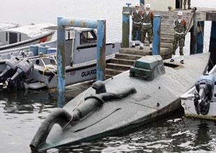 Uyuşturucu yüklü denizaltı yakalandı