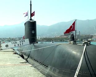 TCG GÜR denizaltısı, KKTC'de ziyarete açıldı