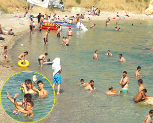 Van Gölü sahilleri, Akdeniz ve Ege'yi aratmıyor