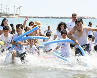Mersin'de 'Denize İlk Dokunuş' etkinliği gerçekleşti