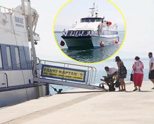 Didim-Kos Adası arasında feribot seferleri başladı