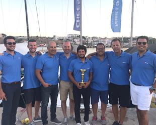 Kaş Marina-Cheese V teknesi, Aşağı Yarışı'nın ilk etabında birinci oldu