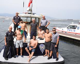 İzmir'de batan balıkçı teknesindeki 6 kişi kurtarıldı