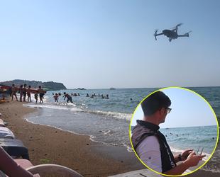 Yalova'da drone destekli deniz denetimi yapıldı