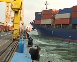 Soul of Luck isimli konteyner gemisi kontrolden çıktı
