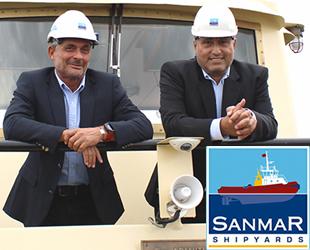 Kerim Kazgan ve Hakkı Çek, Sanmar'da göreve başladı