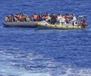 Libya açıklarında göçmenleri taşıyan tekne battı: 116 kayıp, 132 kişi kurtarıldı...