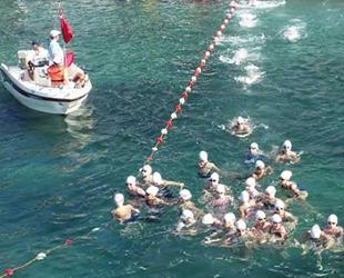 Kocaeli Açıksu Yüzme Şampiyonas'ının ilk etabı tamamlandı