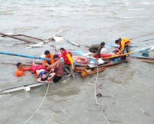 Filipinler'de 3 yolcu teknesi battı: 31 ölü, 4 kayıp…