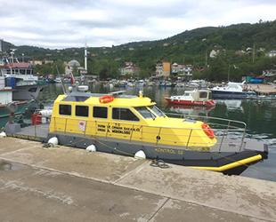 'Kontrol 52' isimli su ürünleri kontrol gemisi denetime başladı