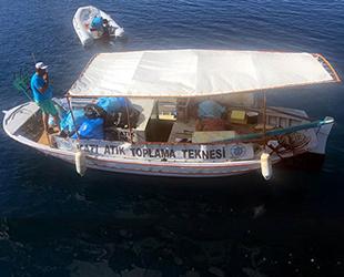 Marmaris'te Kurban Bayramı öncesi kıyı temizliği yapıldı