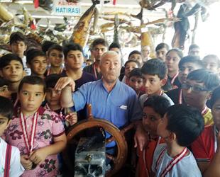 Öğrenciler, Türkiye Deniz Canlıları Müzesi'ne ziyaret etti