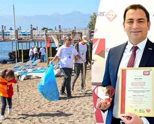 Doğa Dostu Araslar Kıyı Temizliği Projesi, Londra'da ödül aldı