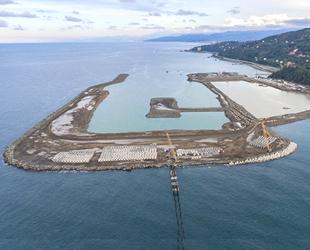 Rize-Artvin Havalimanı projesinin yüzde 40'ı tamamlandı