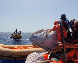 Akdeniz'de 85 düzensiz göçmen kurtarıldı