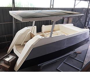 Türk mühendisler güneş enerjisiyle giden tekne inşa ettiler