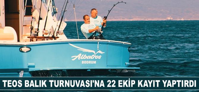 Tuna Masters Teos Balık Turnuvası'na 22 ekip kayıt yaptırdı