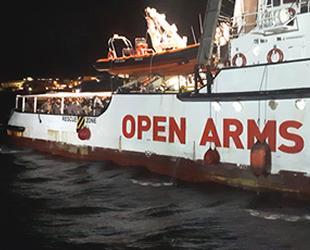 İtalya, Open Arms isimli yardım gemisine el koydu
