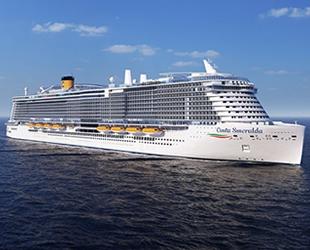 Costa Cruises'un yeni gemisi 'Smeralda' Kasım'da denize indirilecek