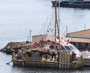 'Abora-IV' isimli gemi, Çanakkale'ye demir atacak