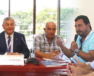 Balıkçıların sorunları, Sayıyer'deki çalıştayda ele alındı