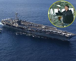 Kayvan Hakimzadeh, USS Harry S. Truman Nükleer Uçak Gemisi'nin 'Komutanı' oldu