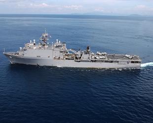 ABD savaş gemisi, Tayvan Boğazı'ndan geçiş yaptı