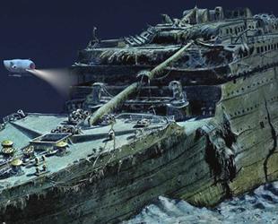 1912 yılında batan yolcu gemisi Titanik'i bakteriler yiyor