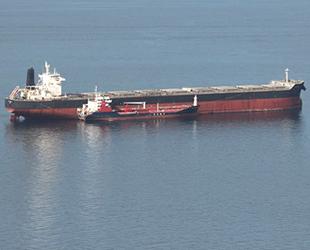 'Esl Dolphin' ve 'Free Stage' isimli gemiler Çanakkale Boğazı'nda çatıştı